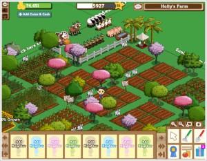 Jogo Farmville (Foto: Divulgação)