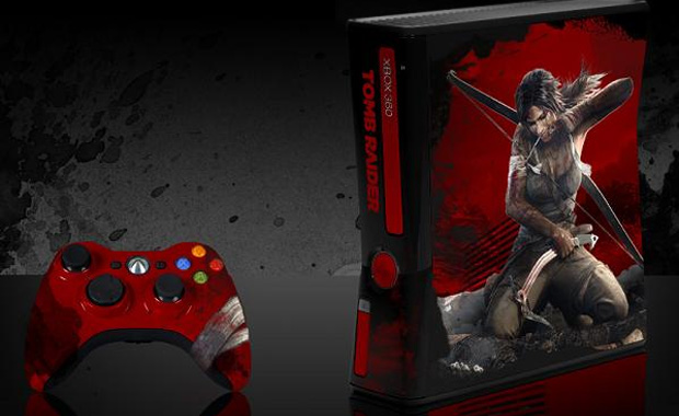 Tomb Raider terá Xbox 360 personalizado distribuído em competição (Foto: Eletronic Theater)