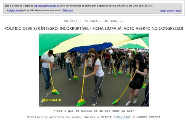 Blog do Planalto. (Foto: Divulgação)