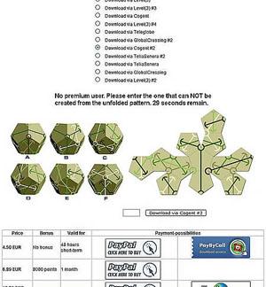 CAPTCHA com símbolos e figuras. (Foto: Oddee)