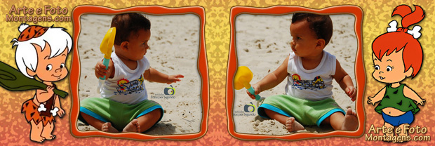 Dudu na praia (Foto: Augustinho Segundo)