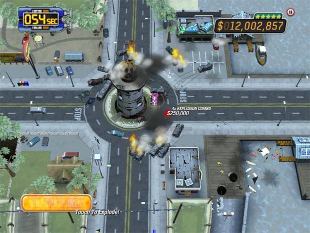 Burnout Crash! para iPhone e iPad  (Foto: Divulgação)