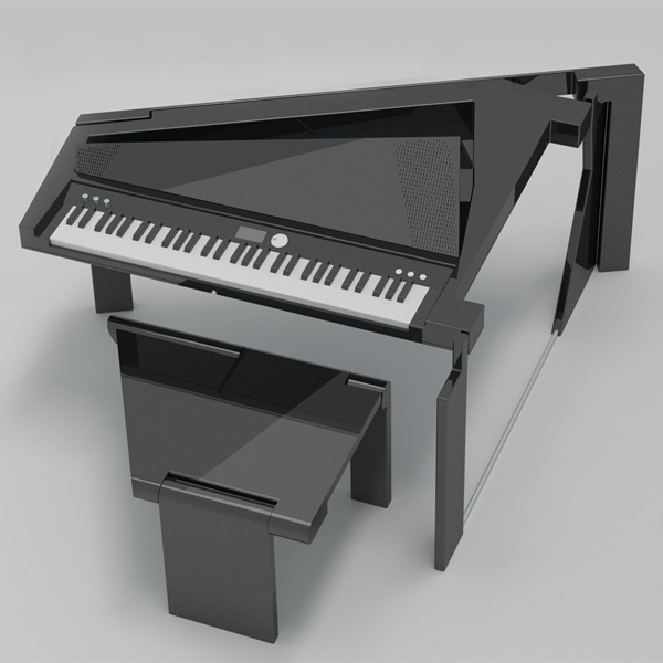 Flat Packing the Piano. (Foto: Divulgação)