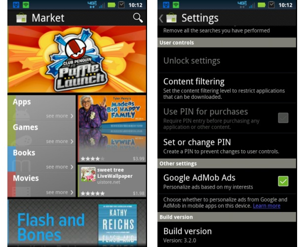 Android Market (Foto: XDA Developers)