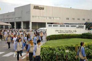 Nikon da Tailândia é atingida por enchente (Foto: Reprodução/TechRadar)