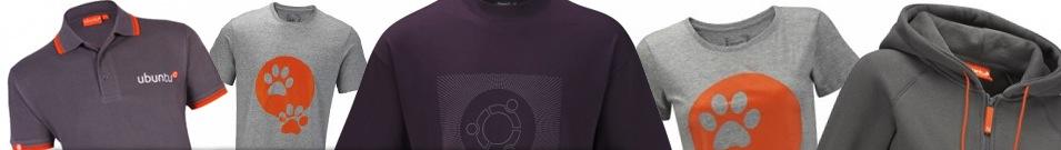 Camisetas Ubuntu. (Foto: Divulgação)