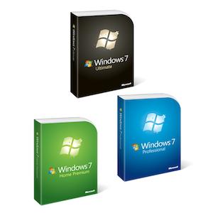 Caixas do Windows 7 (Foto: Divulgação)
