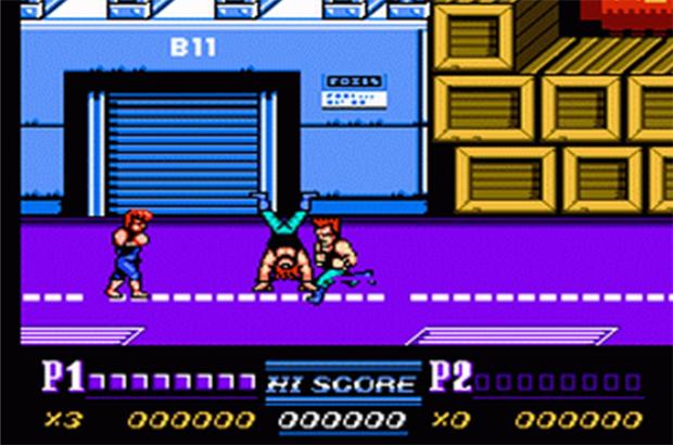 Double Dragon na versão NES (Foto: Divulgação)