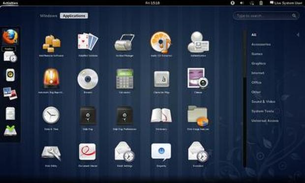 GNOME Shell (Foto: Reprodução)