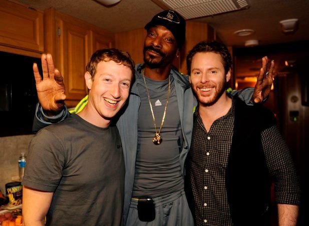 Mark Zuckerberg e Snoop Dogg (Foto: Reprodução)