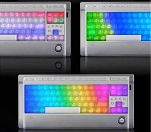 teclado arco-iris (Foto: Divulgação)