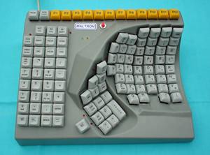 teclado uma mão (Foto: Divulgação)