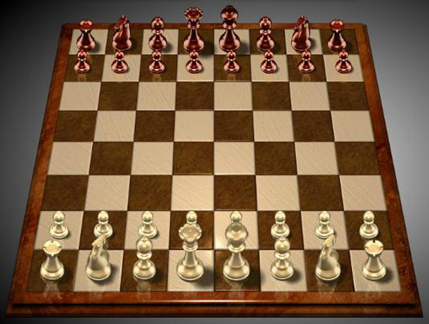 Jogo de xadrez (Foto: Reprodução)