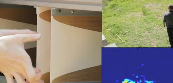 Radar desenvoldido pelo MIT exibe imagens em tempo real. (Foto: Reprodução)