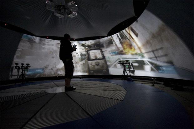 Simulador de Battlefield 3 (Foto: Divulgação)