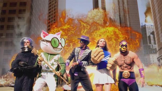 Comercial de Saints Row: The Third é tão insano quanto o jogo (Foto: Divulgação)