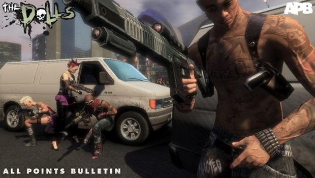 All Points Bulletin reproduz as guerras de gangues em um MMOG com a cara de GTA (Foto: Divulgação)