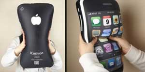 Almofada de iPhone. (Foto: Oddee)