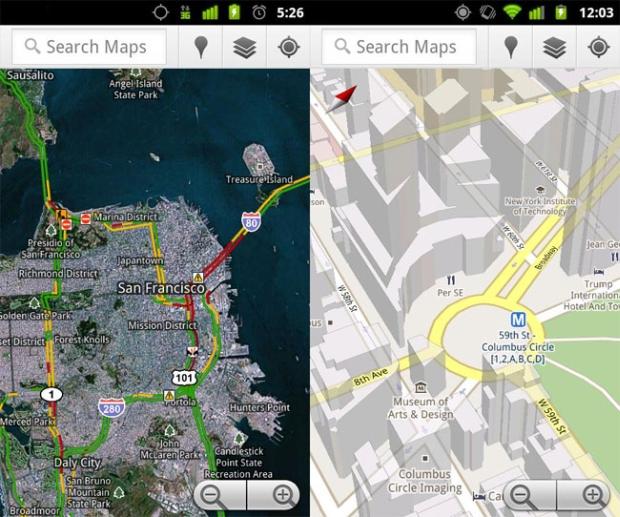 Novo Google Maps no Android (Foto: Divulgação)
