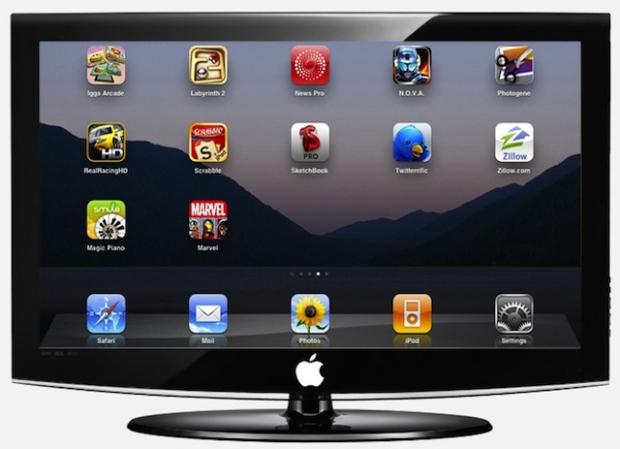 Segundo relatos, o novo sistema nada tem à ver com o já lançado Apple TV (Foto: Arte)