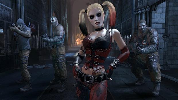 Harley Quinn do Batman: Arkham City (Foto: Divulgação)