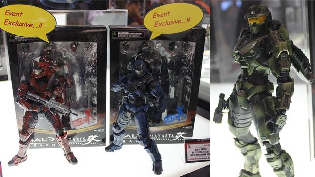 Linha de Action Figures de jogos Play Arts Kai aparece na New York Comic Con 2011 (Foto: MTV Geek)
