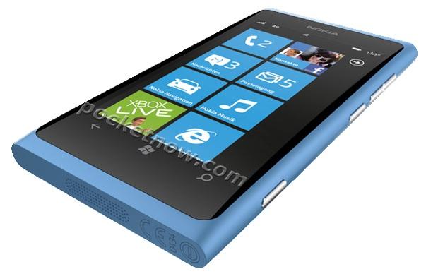 Nokia 800 azul (Foto: Divulgação)