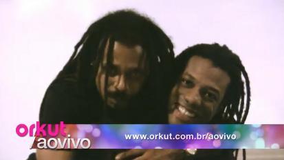 O Rappa participa do Orkut Ao Vivo (Foto: Reprodução)