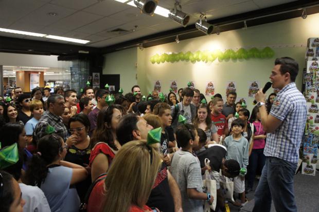 Fãs se reúnem em São Paulo no evento de The Sims 3: Pets (Foto: Divulgação)