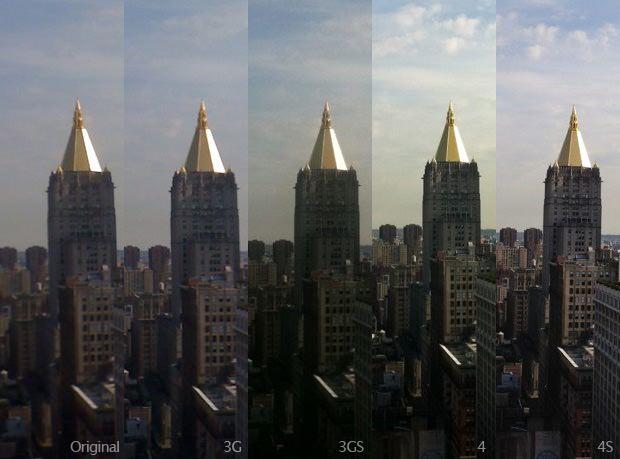 Comparativo entre câmeras dos iPhones (Foto: Lisa Bettany)
