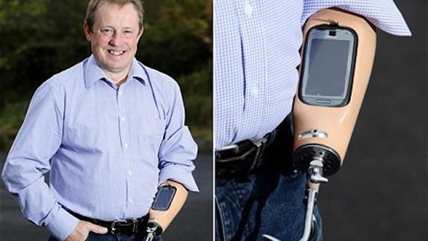 Trevor Prideaux usou um Nokia C7. (Foto: Divulgação)