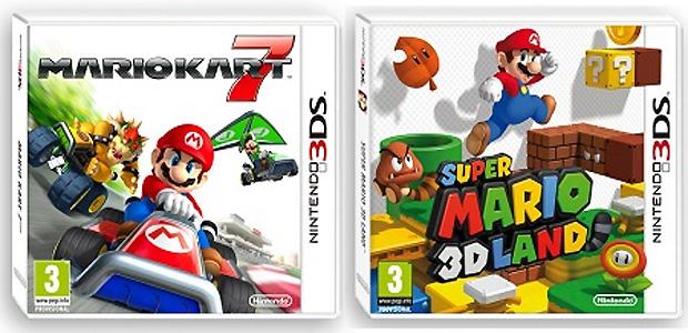 Super Mario 3D Land e Mario Kart 7 ganham trailers de pré-venda (Foto: Divulgação)