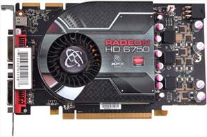 Radeon HD 6750 da XFX (Foto: Divulgação)