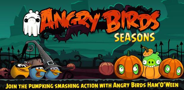Angry Birds Season - Halloween, para Android (Foto: Divulgação)