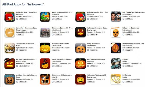 Aplicativos para iPad na App Store (Foto: Reprodução)