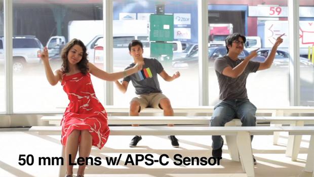 Sensor APS-C (Foto: Reprodução/Vimeo/ Daniel Hayek)