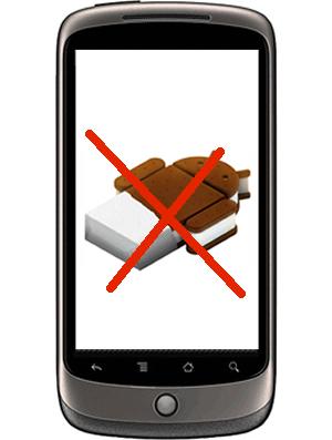 Nexus One não receberá o Android 4.0 (Foto: Divulgação)