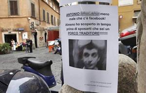 Antonio M, porco traditore! (Foto: Reprodução)