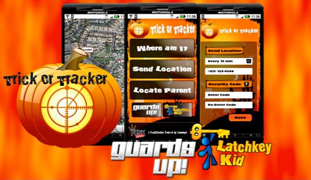 Aplicativo para rastrear crianças no Haloween (Foto: Reprodução)