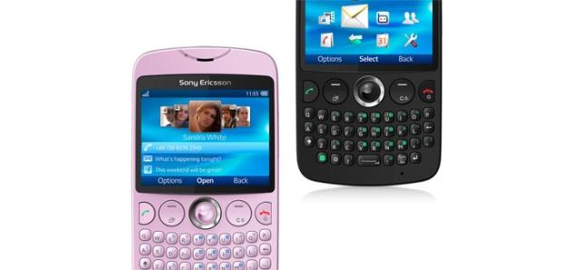 Sony Ericsson txt (Foto: Divulgação)