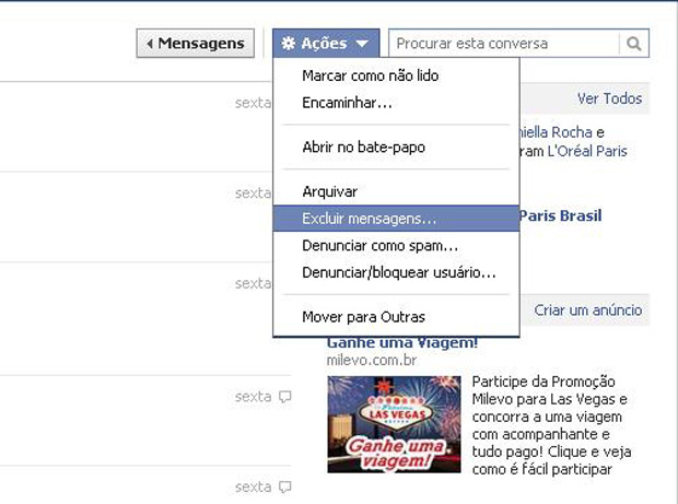 Como acessar o hist rico de bate papo do facebook site for O architecture facebook