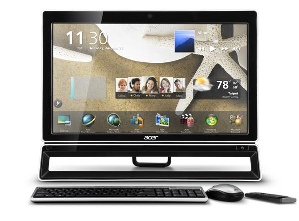 Os modelos AZ3 e AZ5, da linha Veriton Z Series, são os novos tudo-em-um da Acer. (Foto: Divulgação)