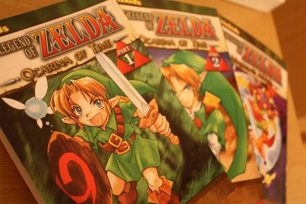 Versão mangá de The Legend of Zelda (Foto: Ben Dodson)