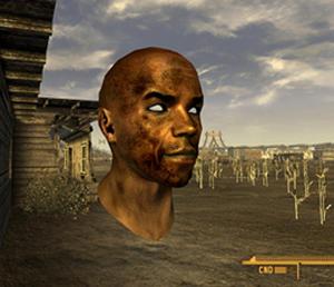 Cabeça voadora em Fallout (Foto: Reprodução)