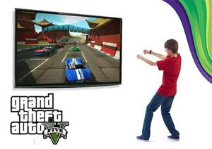 Já pensou em GTA com Kinect? (Foto: Divulgação)