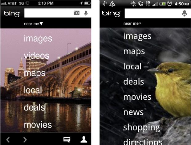 Novo app do Bing para Android e iOS (Foto: Divulgação)