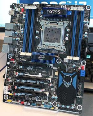 Placa-mãe DX79SI Extreme. (Foto: Divulgação)