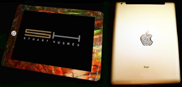 iPad 2 com ouro, diamantes e ossos de dinossauro (Foto: Reprodução)