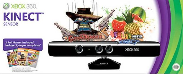 Novo pacote do Kinect vem com The Gunstringer e Fruit Ninja (Foto: Joystiq)
