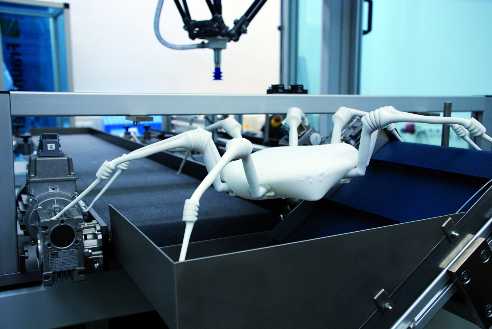 Aranha-robô. (Foto: Divulgação)